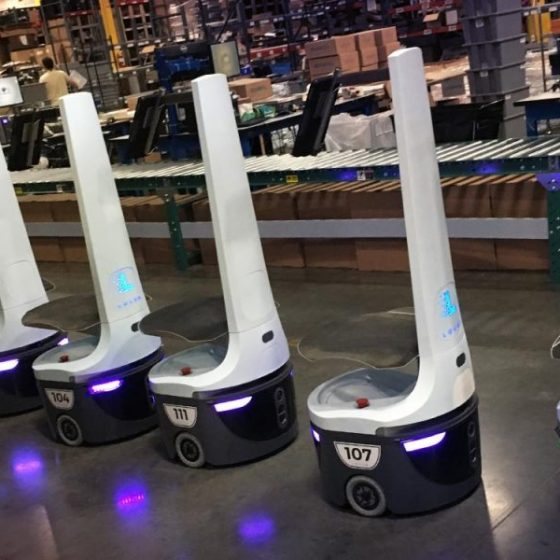 Locus Robotics raises $40 million to take its warehouse robots global